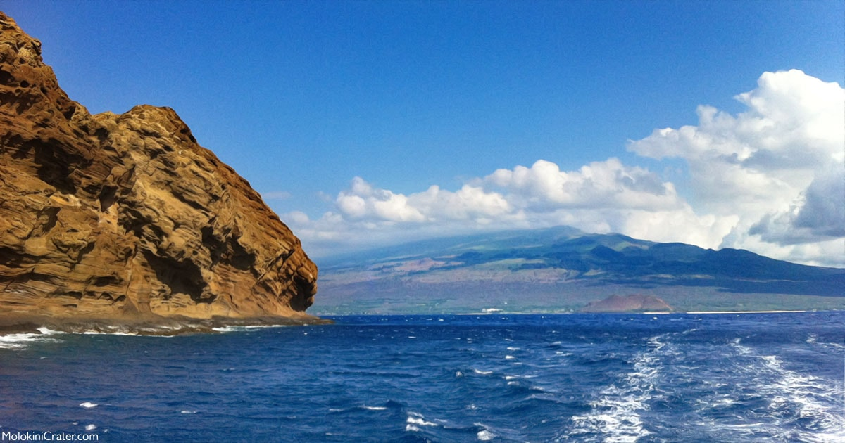 Molokini Crater backside